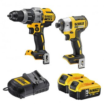 DEWALT DCK276P2 18V 5.0AH LI-ION BRUSHLESS TWIN PACK