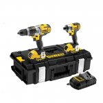 DEWALT DCK290M2 18V Combi Drill and Impact Driver DCD985/DCF885 Twin Pack 4.0AH LI-ION