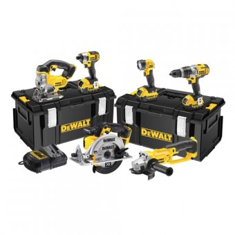 DEWALT DCK692M3 18V LI-ION XR 6 PIECE CORDLESS KIT WITH 3 X 4.0AH BATTERIES