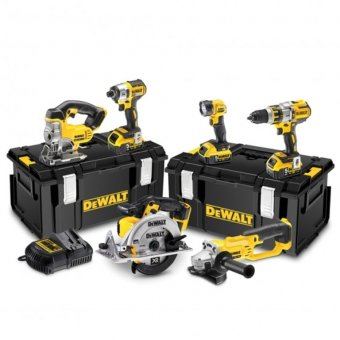 DEWALT DCK694P3 18V 3x5.0AH BRUSHLESS 6 PIECE COMBO KIT