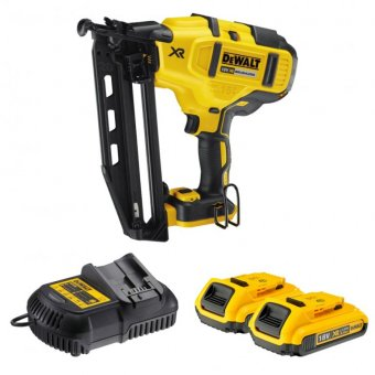 DEWALT DCN660D2-GB 18X XR 2ND FIX NAIL GUN 2.0AH