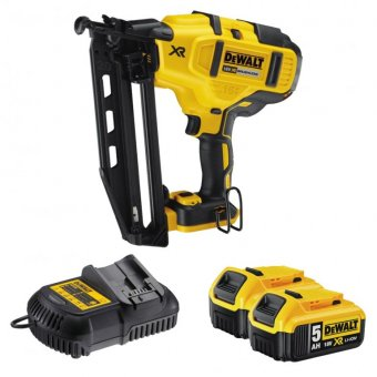 DEWALT DCN660P2-GB 18V XR 2ND FIX NAIL GUN 5.0AH