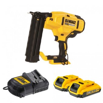 DEWALT DCN680D2-GB 18V LI-ION 18G BRAD NAILER WITH 2 X 18V 2.0AH LI-ION BATTERIES