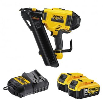 DEWALT DCN694P2 18V METAL CONNECT NAILER WITH 2 X 5.0AH BATTERIES