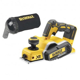 DEWALT DCP580N 18V BRUSHLESS CORDLESS PLANER BODY WITH DWV9390 DUST BAG