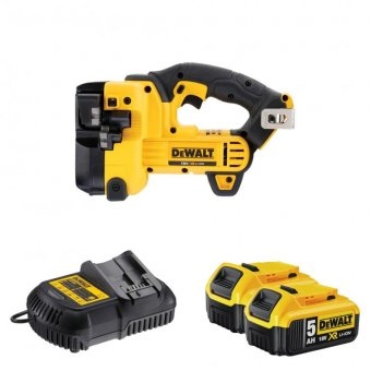DEWALT DCS350P2 18V THREADED ROD / STUD CUTTER WITH 2 X 5.0AH LI-ION BATTERIES
