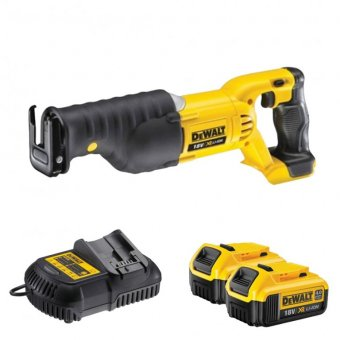 DEWALT DCS380M2 18V CORDLESS RECIPROCATING SAW 4.0ah battery