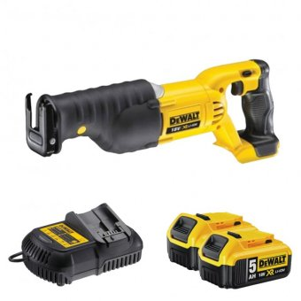 DEWALT DCS380P2 18V CORDLESS RECIPROCATING SAW 5.0AH