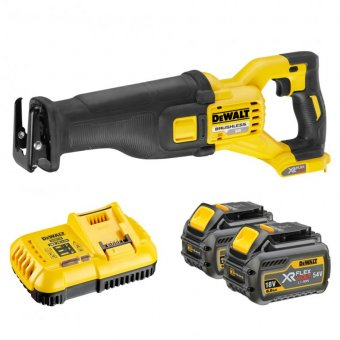 DEWALT DCS388T2 XR FLEXVOLT 54V RECIPROCATING SAW WITH 2 X 54V 6.0AH LI-ION BATTERIES