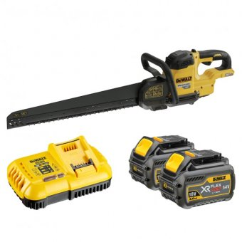 DEWALT DCG397T2 XR FLEXVOLT 54V ALLIGATOR SAW WITH 2 X 54V 6.0AH LI-ION BATTERIES