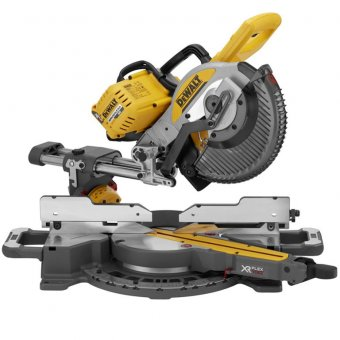 DEWALT DCS727N 54V FLEXVOLT 250MM DOUBLE SLIDE MITRE SAW (BODY ONLY)