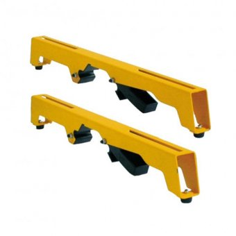 DEWALT DE7025 2 X MOUNTING BRACKETS FOR DE7023