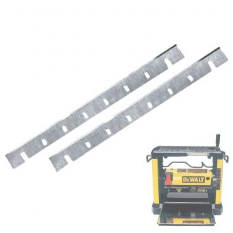 DEWALT DE7033 THICKNESSER REPLACEMENT PLANER BLADE SET FOR DW733