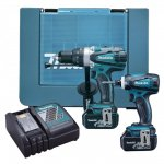 MAKITA DLX2005AH 18V 5.0AH 2 PIECE COMBO KIT