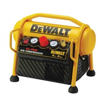 DEWALT DPC6MRC-GB 240V 6 LITRE OIL-FREE AIR COMPRESSOR