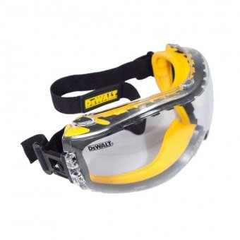 DEWALT DPG82 CONCEALER CLEAR GOGGLE EYE PROTECTION