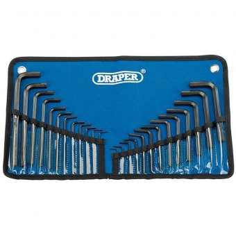 DRAPER (33892) 25 PIECE METRIC/IMPERIAL COMBINED HAXAGON KEY SET