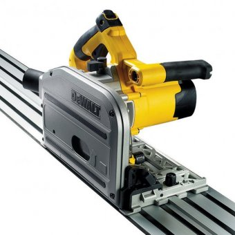 DEWALT DWS520KR-GB 240V PLUNGE SAW + 1.5M GUIDE RAIL