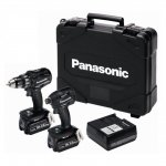 PANASONIC EYC215LJ2G 18V 5.0AH LI-ION BRUSHLESS DRILL DRIVER AND IMPACT DRIVER TWIN PACK