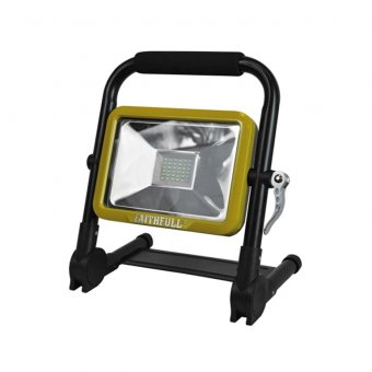 Faithfull 20W SMD Folding Rechargeable Light