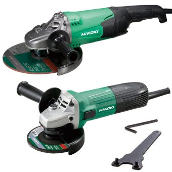 HIKOKI G23STG12STXJ2Z 115MM AND 230MM ANGLE GRINDERS TWIN PACK 110V
