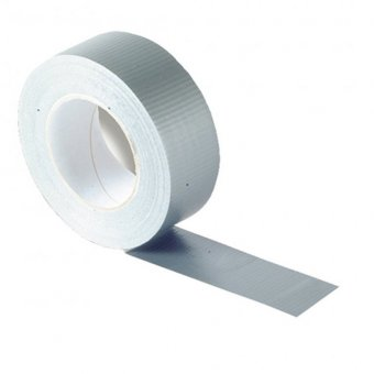 50MM X 50M ROLL GREY GAFFA / DUCT TAPE