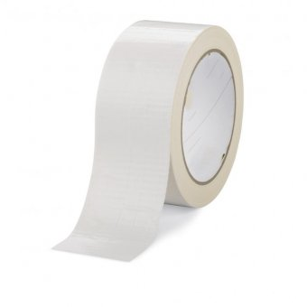 50MM X 50M ROLL WHITE GAFFA / DUCT TAPE