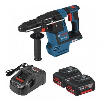 BOSCH GBH 18 V-26F 18V BRUSHLESS SDS+ HAMMER DRILL WITH 2 X 6.0AH BATTERIES