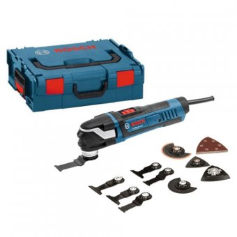 BOSCH GOP 40-30 PROFESSIONAL STARLOCK MULTI-TOOL WITH 15 ACCESSORIES IN L-BOXX (240V ONLY)