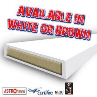 ASTROFLAME 10MM x 4MM x 2.1M 30MIN INTUMESCENT STRIP - FIRE ONLY