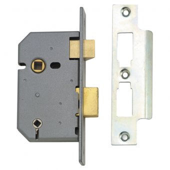 UNION 2226 3 LEVER MORTICE BATHROOM LOCK