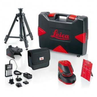 LEICA LINO L2P5 PRO PACK LASER LEVEL AND TRIPOD KIT