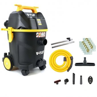 V-TUF M-CLASS MINI PLUS 240V WET AND DRY DUST EXTRACTOR
