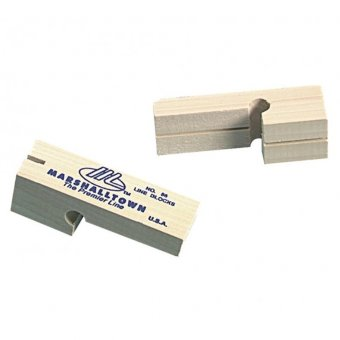 MARSHALLTOWN HARDWOOD LINE BLOCKS (2)