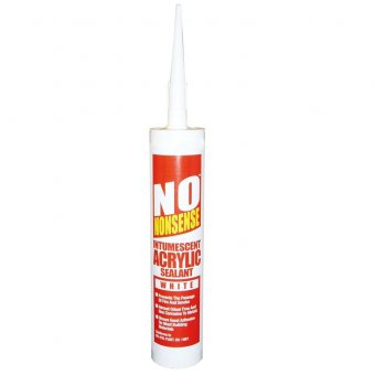 No nonsense intumescent Sealant White