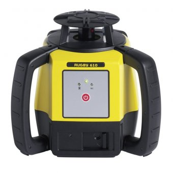 LEICA (ALKALINE) RUGBY 610 OUTDOOR LASER LEVEL KIT WITH RODEYE 120