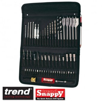 TREND SNAPPY TOOL HOLDER 60 PC BIT SET