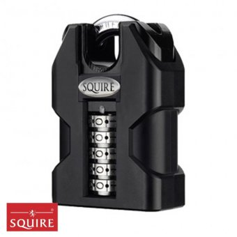 SQUIRE STRONGHOLD SS50/COMBI CLOSED SHACKLE HIGH SECURITY COMBINATION PADLOCK