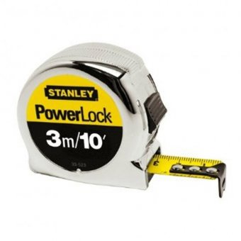 "STANLEY 3M / 10"" POWERLOCK TAPE MEASURE"