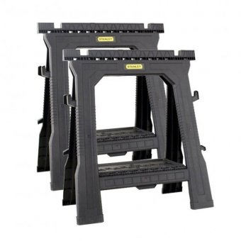 STANLEY 1-70-713 FOLDING SAWHORSE TWIN PACK