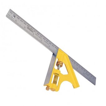 "STANLEY 12"" DIE CAST COMBINATION SQUARE"