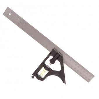 "STANLEY 12"" COMBINATION METAL SQUARE"