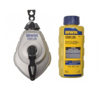 IRWIN STRAIGHT-LINE 30M CHALK LINE SET 10507684