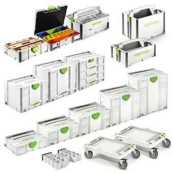 FESTOOL MOBILE 16 PIECE SYSTAINER KIT