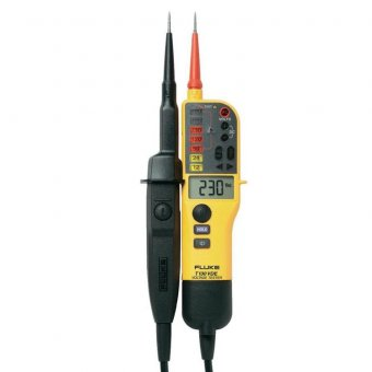 Fluke T130 (Digital Voltage/Continuity Tester With LCD, Switchable Load)