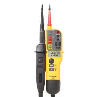 Fluke T150 (Digital Voltage/Continuity Tester With LCD, Ohms, Switchable Load