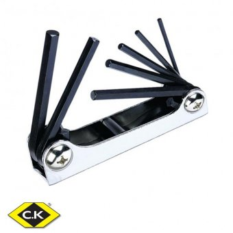 C.K 7 PIECE HEXAGON KEY SET - METRIC