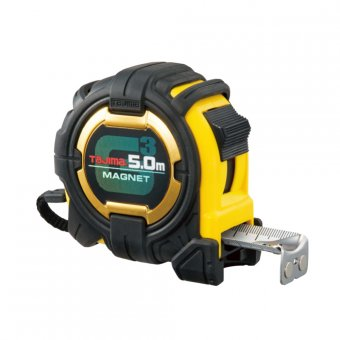 TAJIMA G3 LOCK 5.0M EXTRA WIDE MAGNETIC TAPE MEASURE