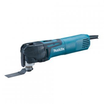 MAKITA TM3010CK 320W OSCILLATING MULTI-TOOL WITH TOOL-LESS BLADE CHANGE