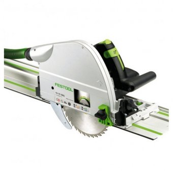 FESTOOL TS75 EQ-PLUS PLUNGE SAW WITH FS/1400 1.4M GUIDE RAIL (561259/561514)